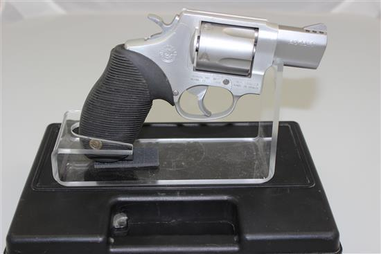 TAURUS MODEL ULTRA LIGHT .45 LC CALIBER REVOLVER SN: WH144023, INCLUDING ORIGINAL BOX