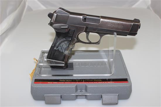 BROWNING MODEL BDM 9MM CALIBER SEMI-AUTO PISTOL SN: 945NX05299