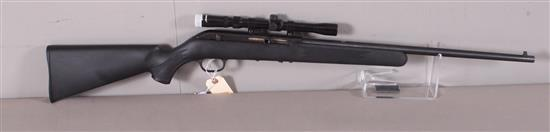 SAVAGE MODEL 64 .22 LR CALIBER SEMI-AUTO RIFLE SN: 0221427, INCLUDING TASCO SCOPE, MISSING MAGAZINE