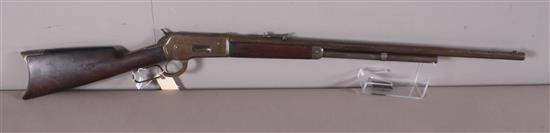 WINCHESTER MODEL 1886 45-90 CALIBER LEVER RIFLE SN: NONE, OCTAGON BARREL *************** (DOES NOT NEED CALLED IN)