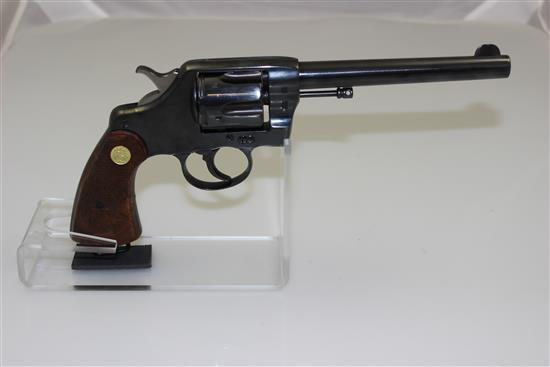 COLT MODEL US ARMY 1903 .38 CALIBER REVOLVER SN: 201735