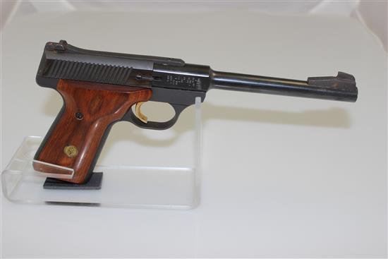 BROWNING MODEL CHALLENGER II .22 LR CALIBER SEMI-AUTO PISTOL SN: 655PY03806