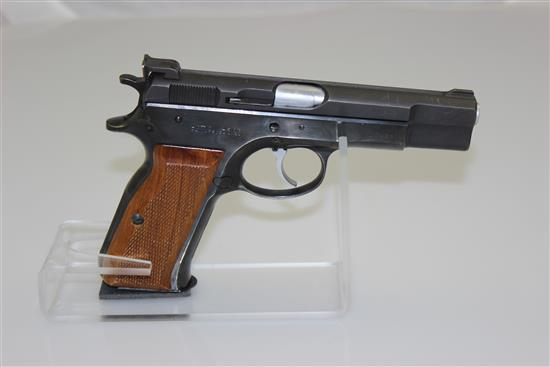 ACTION ARMS MODEL AT84S 9MM CALIBER SEMI-AUTO PISTOL SN: 05208