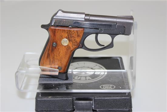 TAURUS MODEL PT-22 .22 LR CALIBER SEMI-AUTO PISTOL SN: AME03339, INCLUDING ORIGINAL BOX