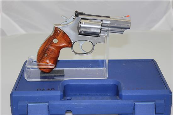 SMITH & WESSON MODEL 66-2 .357 MAG CALIBER REVOLVER SN: C1942X54, INCLUDING HARD CASE