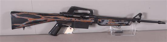KASSNAR MODEL 16 .22 LR CALIBER SEMI-AUTO RIFLE SN: A214276, MISSING MAGAZINE