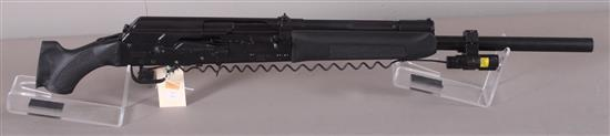 IZHMASH / SAIGA MODEL A-12 .12 GAUGE SEMI-AUTO SHOTGUN SN: H01403971, PISTOL GRIP LIGHT/LASER