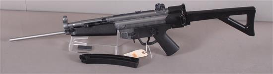 GSG MODEL GSG-5 .22 LR CALIBER SEMI-AUTO RIFLE SN: A325375, INCLUDING FOLDING STOCK