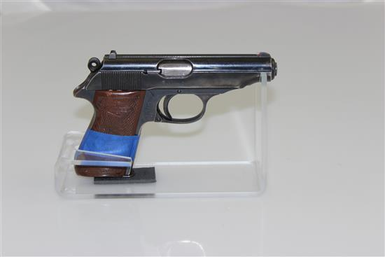 MANURHIN MODEL PP 7.65 MM CALIBER SEMI-AUTO PISTOL SN: 404464