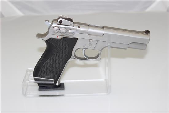 SMITH & WESSON MODEL 4506 .45 AUTO CALIBER SEMI-AUTO PISTOL SN: TDC1652