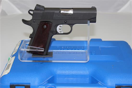 SPRINGFIELD ARMORY MODEL ULTRA COMPACT .45 AUTO CALIBER SEMI-AUTO PISTOL SN:  N409900, INCLUDING ORIGINAL BOX