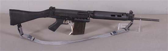 IMBEL MODEL L1A1 SPORTER .308 CALIBER SEMI-AUTO RIFLE SN: 122239, INCLUDING SLING