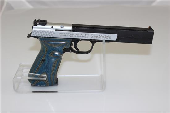 SIG ARMS MODEL TRAIL SIDE .22 LR CALIBER SEMI-AUTO PISTOL SN: E0016929
