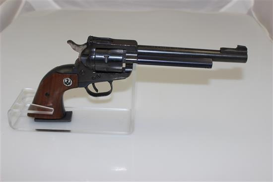 RUGER MODEL SINGLE SIX .22 LR CALIBER REVOLVER SN: 540509, MISSING CYLINDER ROD, LIGHT RUST