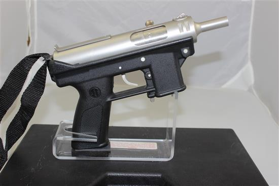 INTRATEC MODEL-10 9MM CALIBER SEMI-AUTO PISTOL SN: A007425, INCLUDING ORIGINAL CASE
