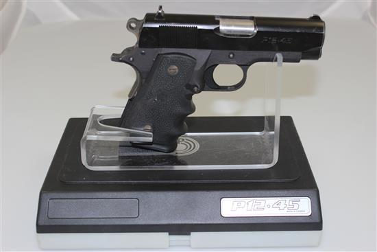 PARA-ORDNANCE MODEL P-1245 45 CALIBER SEMI-AUTO PISTOL SN: RJ10504, INCLUDING ORIGINAL HARD CASE