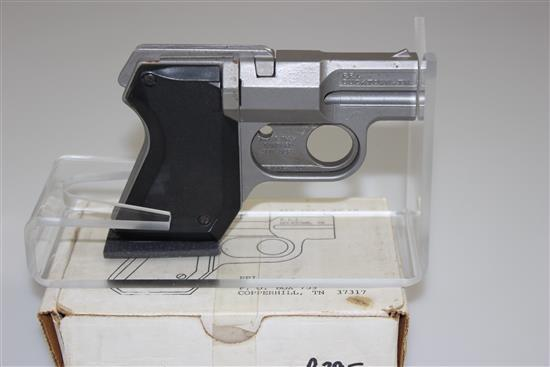 P.P.L MODEL 22/380 .22 LR/.380 CALIBER PISTOL SN: CTG000218, INCLUDING ORIGINAL BOX, MISSING .22 CYLINDER