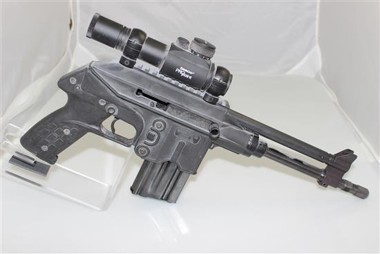 KEL-TEC MODEL PLR-16 5.56 MM CALIBER SEMI-AUTO PISTOL SN: P0P88, INCLUDING RED DOT SIGHT