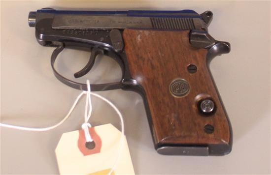 BERETTA MODEL 21A .22 LR PISTOL SN: BBS20819U, INCLUDING ORIGINAL BOX