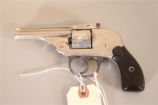 U.S. REVOLVER CO. MODEL TOP BREAK .32 CALIBER REVOLVER SN: 28911