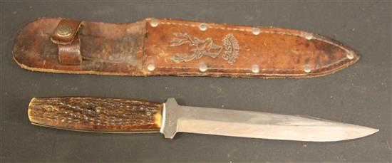 CASE FIXED BLADE KNIFE MARKED