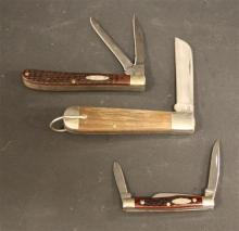 (3) CASE KNIVES 1199 SHR, 6333 AND 62048