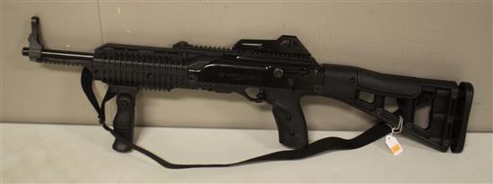 HI-POINT FIREARMS MODEL 995, 9 MM RIFLE, SN#F96655, INCLUDING MAGAZINE. NEW WITH ORIGINAL BOX.