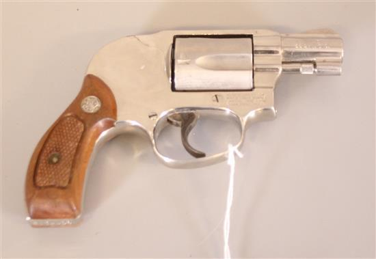 SMITH AND WESSON MODEL 38-1 AIRWEIGHT