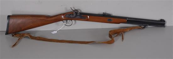 THOMPSON CENTER ARMS MODEL WHITE MOUNTAIN CARBINE, .50 CAL. BLACK POWDER RIFLE, DOES NOT NEED TO BE CALLED IN *********
