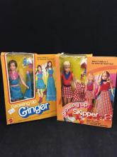 GROWING UP SKIPPER AND GROWING UP GINGER IN ORIGINAL BOXES.