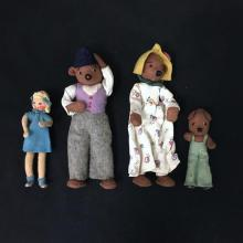 BAPS STORYBOOK CHARACTERS GOLIDLOCKS AND THE THREE BEARS.