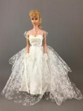 NO. 5 BLONDE PONYTAIL BARBIE WEARING DRESS FROM