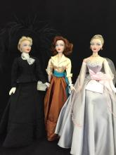 3 UNBOXED GENE DOLLS INCLUDING CONVENTION DOLLS