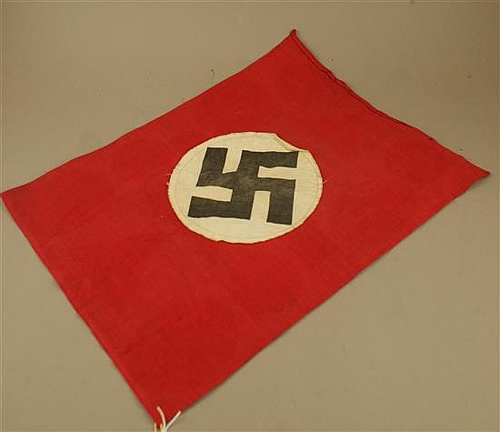 nazi double sided small flag
