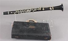 SELMER CLARINET IN CASE, MISSING PIECES