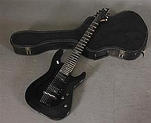 SGR 5 SCHECTER 7 STRING ELECTRIC GUITAR WITH CASE