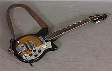 JAPANESE ELECTRIC GUITAR WITH STRAP