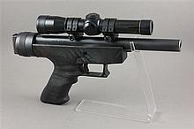 ORDNANCE TECHNOLOGY SSP-86 .357 MAX CALIBER SS PISTOL SN: 0414, WITH SCOPE