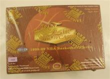 FLEER FLAIR SHOWCASE 1998-99 NBA BASKETBALL CARD SET IN ORIGINAL BOX, SEALED