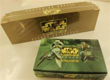 LOT STAR WARS GAME CARDS INCLUDING 30 BOXED ENDOR 9-CARD EXPANSION PACKS AND CUSTOMIZABLE CARD GAME SECOND ANTHOLOGY IN ORIGINAL BOX...