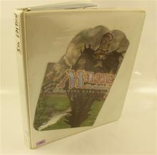 LOT 450 MAGIC THE GATHERING CARDS IN BINDER