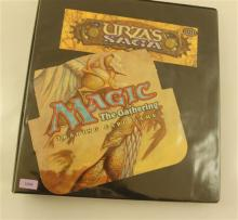 LOT 350 MAGIC THE GATHERING CARDS URZA''S SAGA IN BINDER