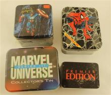 LOT MARVEL TRADING CARDS INCLUDING MARVEL UNIVERSE PREMIER EDITION, MARVEL UNIVERSE SERIES II, MARVEL UNIVERSE SERIES III, MARVEL MA...