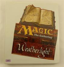 LOT 167 MAGIC WEATHERLIGHT CARDS IN BINDER