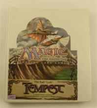 LOT 342 MAGIC THE GATHERING CARDS THE RATH CYCLE TEMPEST IN BINDER