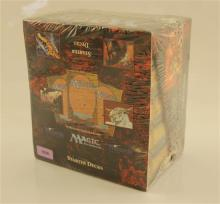 LOT 5 MAGIC THE GATHERING BOXED STARTER DECKS IN SEALED DISPLAY BOX