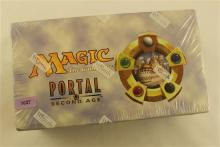 LOT 15 MAGIC PORTAL SECOND AGE PRECONSTRUCTED DECKS IN SEALED DISPLAY BOX
