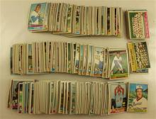 LOT TOPPS 1976 PLAYER CARD SETS, INCOMPLETE