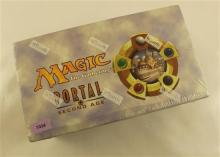 LOT MAGIC PORTAL SECOND AGE PRECONSTRUCTED DECKS IN SEALED DISPLAY BOX