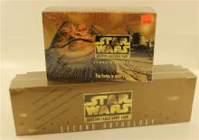 LOT STAR WARS GAME CARDS INCLUDING JABBA''S PALACE EXPANSION SETS AND SECOND ANTHOLOGY, BOTH SEALED IN ORIGINAL PACKAGING